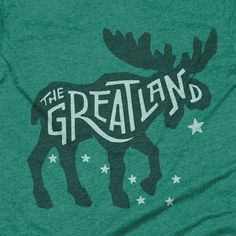 "Alaska ""The Great Land"" T-shirt"