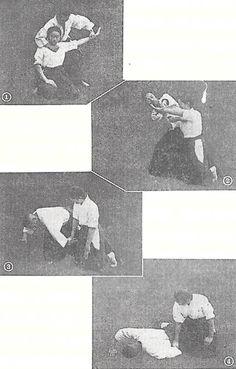 """Put in kokyu (Aiki)"" - from Takuma Hisa's ""Women's Budo"", 1942. More from Hisa Sensei along with a free download of his 1940 book on Daito-ryu in ""Takuma Hisa – Kannagara no Budo, Daito-ryu Aiki Budo Hiden 1940"", on the Aikido Sangenkai blog:   http://www.aikidosangenkai.org/blog/takuma-hisa-kannagara-no-budo-daito-ryu-aiki-budo-hiden-1940/"