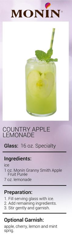Country Apple Lemonade