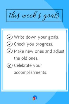 What are your weekly goals? Weekly Goals, Old Ones, Virtual Assistant, Writing, How To Make, A Letter, Writing Process