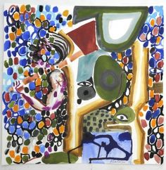 Works. Abraham Lacalle. Artists / Frolov Gallery