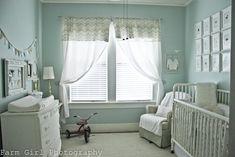 Baby Blue Blue - kiddies' rooms' walls