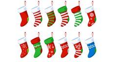 Free Christmas Stocking PSD