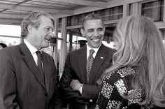 http://www.flickr.com/photos/1000plumes/6257077865/ G8, Philippe Augier, Barrack Obama et Béatrice Augier, Deauville