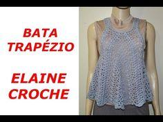SAIA PRINCESA EM CROCHE - 1ª PARTE - YouTube