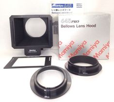 *Unused in Box* Mamiya 645 Pro Bellows Lens Hood for TL AF AFD II DF From Japan #Mamiya