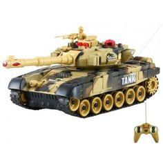 #t90 #model #modele #czolgi #czolg #rc #zdalnie #sterowane #sterowany #pilota  Już jest !!! Zdalnie Sterowany Czołg T-90 RTR idealny model dla początkujących i młodych modelarzy, już od 6 roku życia dziecko może bawić się tym modelem. Model posiada wiele ciekawych funkcji.  Chcesz wiedzieć więcej? Zobacz opis, dane techniczne, komentarze oraz film Video. Nie ma jeszcze komentarzy, to czemu nie zostawisz swojego:)