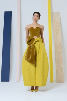 Fall 2014 Ready-to-Wear - Rosie Assoulin....THIS COLOUR