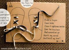DIY Shoelace Tying Board