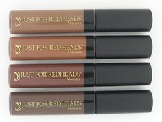 OMG!!!!  Awesome!!!!!  Redhead Mascara Just for Redheads.... Finally a mascara that isn't black....so I don't look like a raccoon....