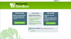Learn Hadoop using Hortonworks Sandbox