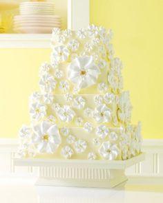 Meringue Wedding Cake butter cream and lemon curd