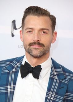 Some Words of Advice from a Savile Row Pro Patrick Grant, Creative Director of Norton & Sons on Savile Row Creative Black Tie, Afro, Mustache Styles, Bespoke Shirts, Dapper Gentleman, Savile Row, Beard No Mustache, Hair And Beard Styles, Men's Grooming