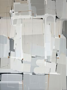 Selected by Taylor Tomasi Hill: James Kennedy - Tonal Composition | From a unique collection of abstract paintings at http://www.1stdibs.com/art/paintings/abstract-paintings/