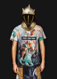 Pray for Paris 'Apollo' t-shirt $77.13