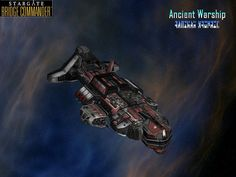 Stargate - Ancient Warship: A powerful craft built before the Alterans ascended. Unfortunately, as far as asthetic designs go, it is a remarkably pedestrian ship.