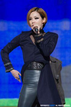 Brown Eyed Girls Miryo Brown Eyed Girls, Leather Design, Brown Eyes, Latex, Korean, Korean Language