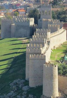 #Avila (Spain)...amazing wall walk (good Parador too)