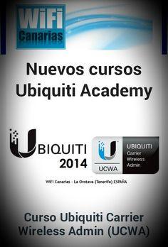 Atentos... en breve publicaremos fecha... ¿Te lo vas a perder? #ubiquiti #curso #UCWA @Kay Baty Owens