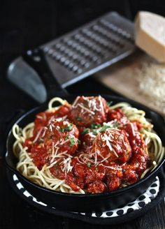 The Best Spaghetti and Meatballs | The Hopeless Housewife®