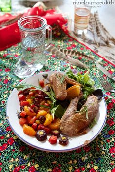 Citrus Rosemary Roast Pheasant | recipe on FamilyFreshCooking.com