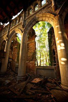Gary, Indiana. Abandonded Church