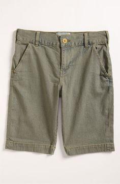 Peek 'Railroad' Stripe Shorts