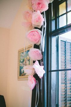 Paper Flowers I did for my wedding ceremony! Paper Flowers Diy, Flower Crafts, Fabric Flowers, Craft Flowers, Wedding Tips, Wedding Ceremony, Wedding Venues, Happy Married Life, Diy Party