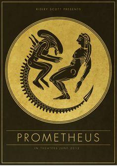 Prometheus poster | johan renklint  Myth or Movie?