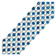1stdibs - Sapphire and Diamond Bracelet explore items from 1,700  global dealers at 1stdibs.com