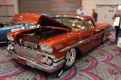 SEMA 2011: El Nomado, A Cherry 1958 El Camino Nomad Custom   Chevy ...