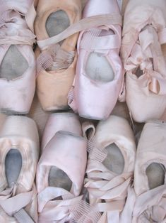 Pointe shoes #ballet