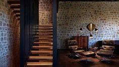 Ramón Esteve diseña una casa de pueblo - diariodesign.com Casa Hotel, Rural House, Beautiful Interiors, Architecture Design, Modern Design, Photo Wall, Stairs, House Design, Mansions