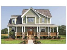 2 story, 2490 square foot, ready-to-build house plan from BuilderHousePlans.com