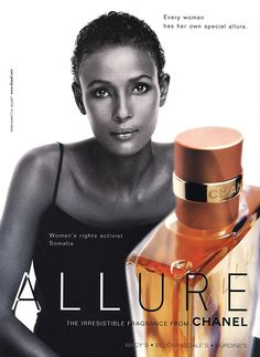 Waris Dirie for Chanel