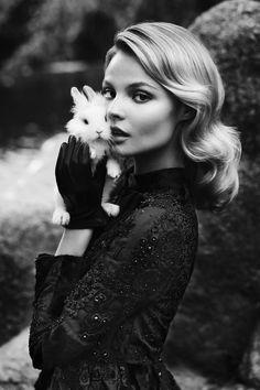 holy-chic-dolly:  Magdalena Frackowiak by Zuza & Bartek. Styled by Michal Kus via DollyChic