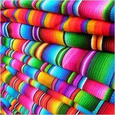 Beautiful Mexican textiles.