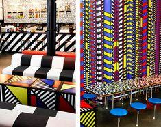 interiors memphis style walala 5 Interiors | Memphis Group Style