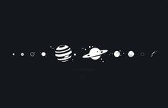 Solar System Wall Clock by Anton Repponen