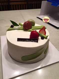 Beautiful cake from Paris Baguette