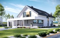 Projekt domu z poddaszem HomeKoncept 2