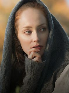 Outlander TV Series costumes | Geillis Duncan played by The Borgias ' Lotte Verbeek
