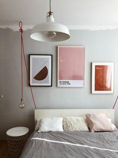 Retro Nachttisch Lese Lampen Wohn Schlaf Zimmer Tisch Leuchten Samt grau-Silber