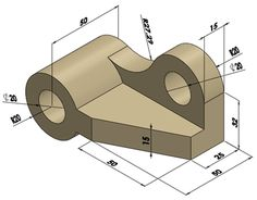 01-a shaft support - solidworks drawing