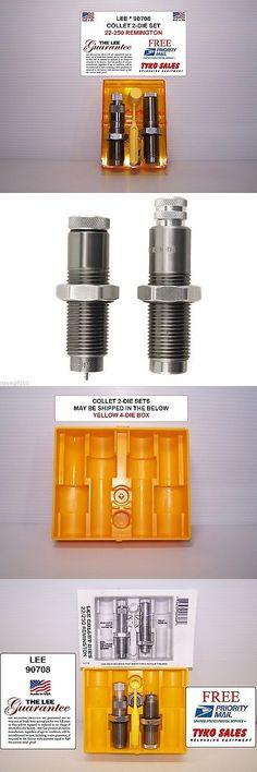Dies 31825: 90708 * Lee Collet 2-Die Set * 22-250 Remington -> BUY IT NOW ONLY: $34 on eBay!
