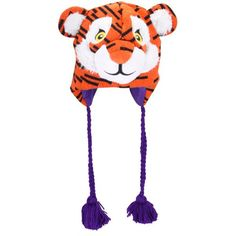 a6184afb91d506 Clemson Tigers Mascot Beanie College Football, Football Jerseys, Football  Shop, Orange And Purple