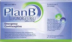 The Plan B medicines acts as birth control therapy and taken within 24 to 72 hours from intercourse. The pills stop sperms from fertilization eggs and its implantation by altering uterine lining.