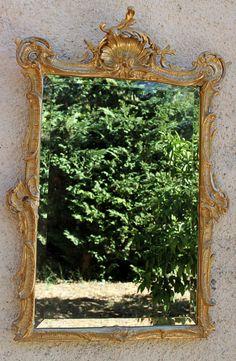 Retrouvez cet article dans ma boutique Etsy https://www.etsy.com/fr/listing/526925260/miroir-louis-xv-dore-a-la-feuille-dor