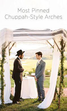 Wedding Ideas - Chuppah - Weddbook