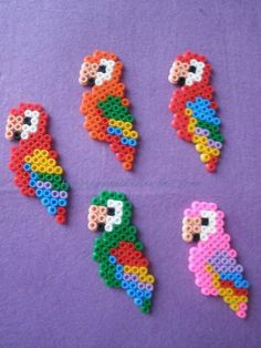 Best Perler beads ideas on Perler Bead Designs, Easy Perler Bead Patterns, Melty Bead Patterns, Perler Bead Templates, Hama Beads Design, Diy Perler Beads, Perler Bead Art, Peyote Patterns, Knitting Patterns